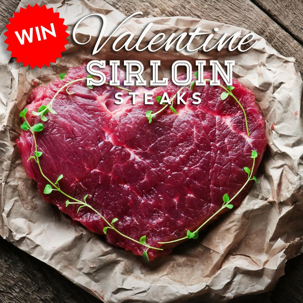 COMPETITION! For your chance to win one of our Heart Shaped Sirloin Steaks, simply retweet this post! Ends Wed' 10am! http://t.co/OGEXpnc3dj