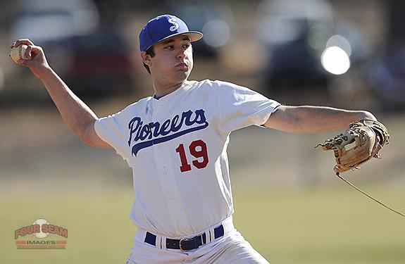 @GOSMCBASEBALL Patrick Mace (19) pitches in the opening homestand against Surry on Saturday. http://t.co/4KEP4w1uqm