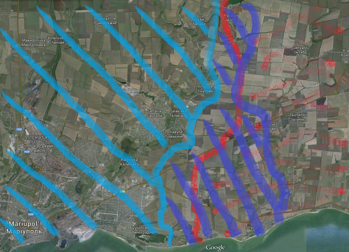 """""""Азов"""" заявил о начале наступательной операции: от террористов освобождены Павлополь и Широкино - Цензор.НЕТ 9373"""