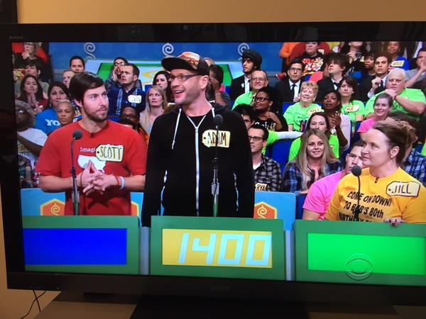 This dude is bringing some metal to @PriceIsRight @kseofficial http://t.co/32HJIMinpv