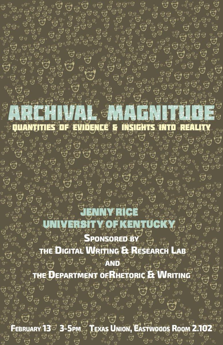 "Thumbnail for Jenny Rice's ""Archival Magnitude"""