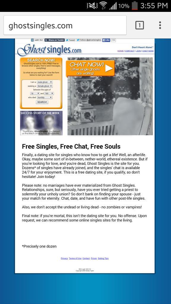 ιστοσελίδα για dating single Γιατί παίρνω ανεπιθύμητη αλληλογραφία από ιστότοπους γνωριμιών