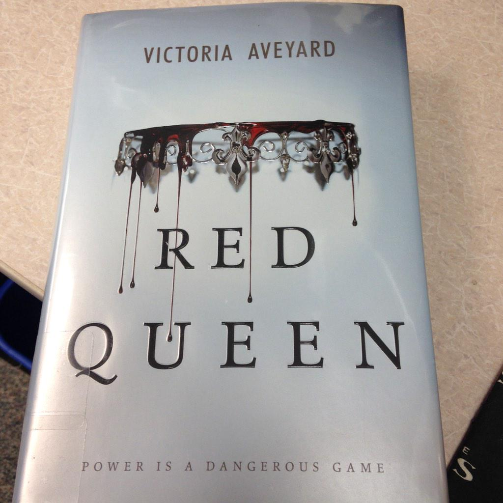 Just delivered to my desk #libraryperks @EpicReads @VictoriaAveyard #RedQueen http://t.co/uNRjelAD8g