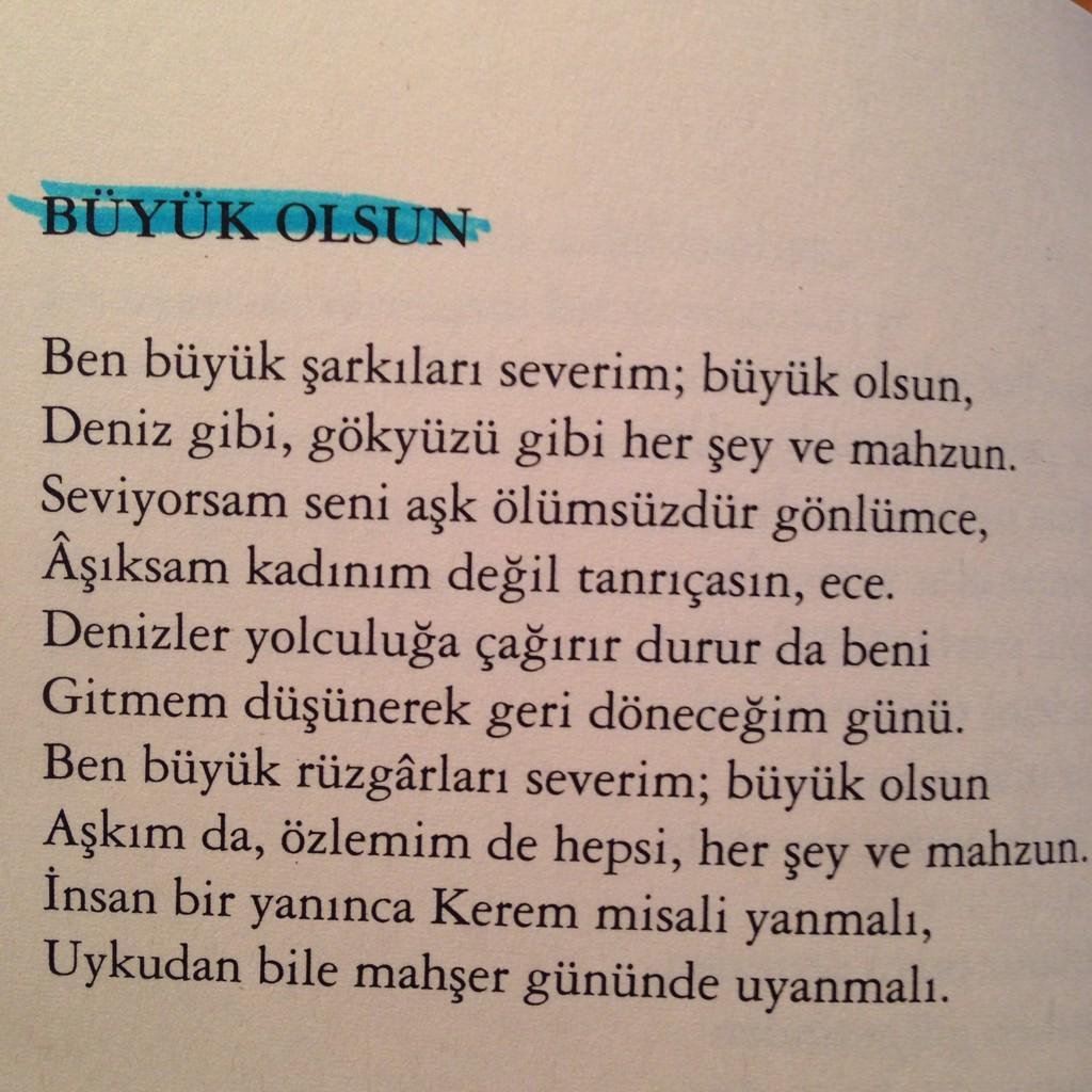Kadınım şiiri