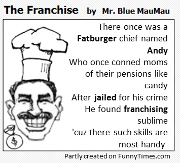 There once was a Fatburger chief named Andy