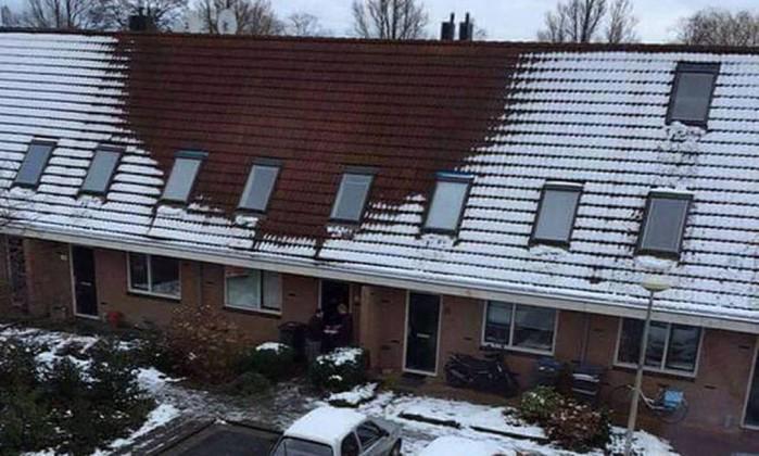 Falta de neve no telhado 'denuncia' plantações de maconha em casas na Holanda. http://t.co/sxWkRWEZVZ http://t.co/pEpneJgV8b