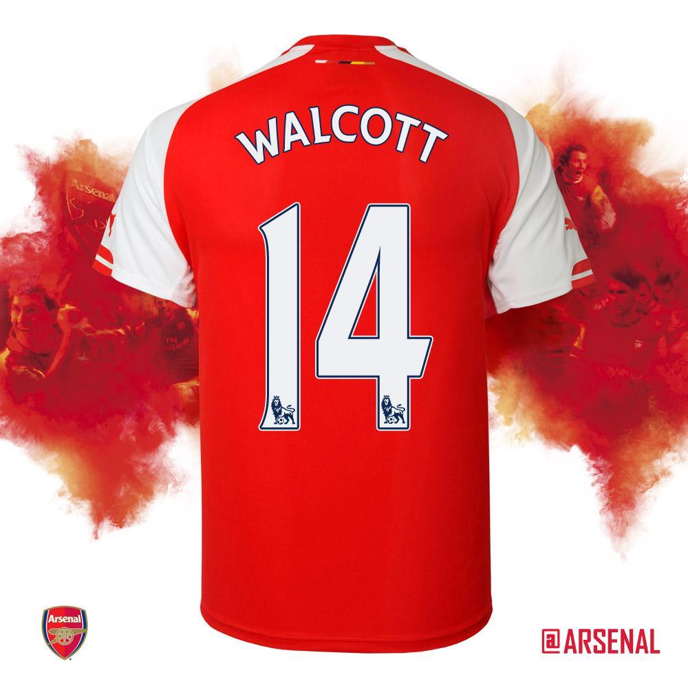 GOAL! Theo Walcott! (41) 2-0 #AFCvLCFC