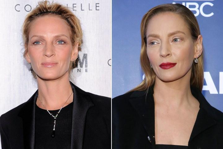 Il trasformismo di Uma Thurman: si e' rifatta il viso con la chirugia estetica