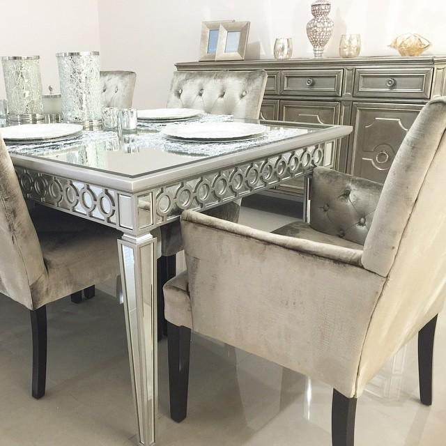 Z Gallerie On Twitter ZGallerieMoment Our Sophie Dining Table Lola Chairs Palais Buffet Add Hollywood Glam To Karicervantes Home