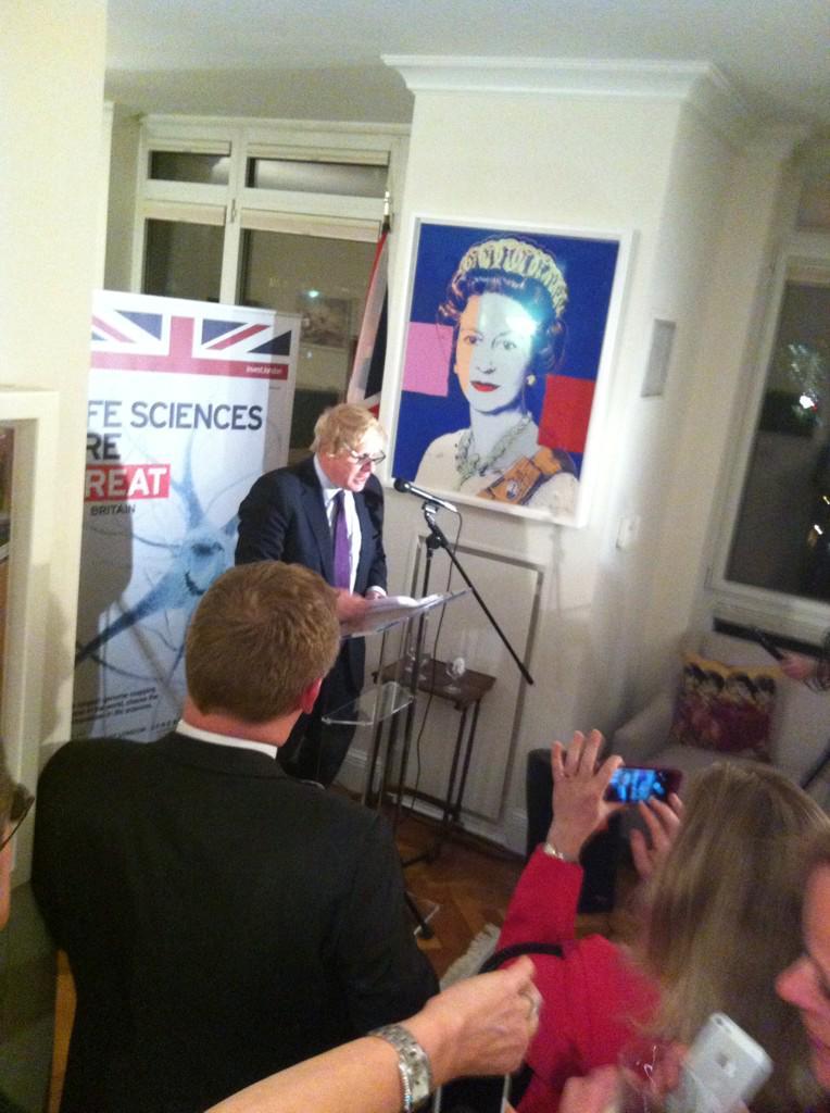 Just spoken about growth of London tech & life science alongside UK C-G Danny Lopez @UKinNewYork residence http://t.co/Elpp9UEf92