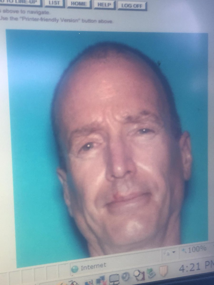 A photo of suspect Mike Montana. Police are looking for him in connection with shooting of KFMB's Kyle Kraska. #NBC7 http://t.co/Sj76yhvFsy