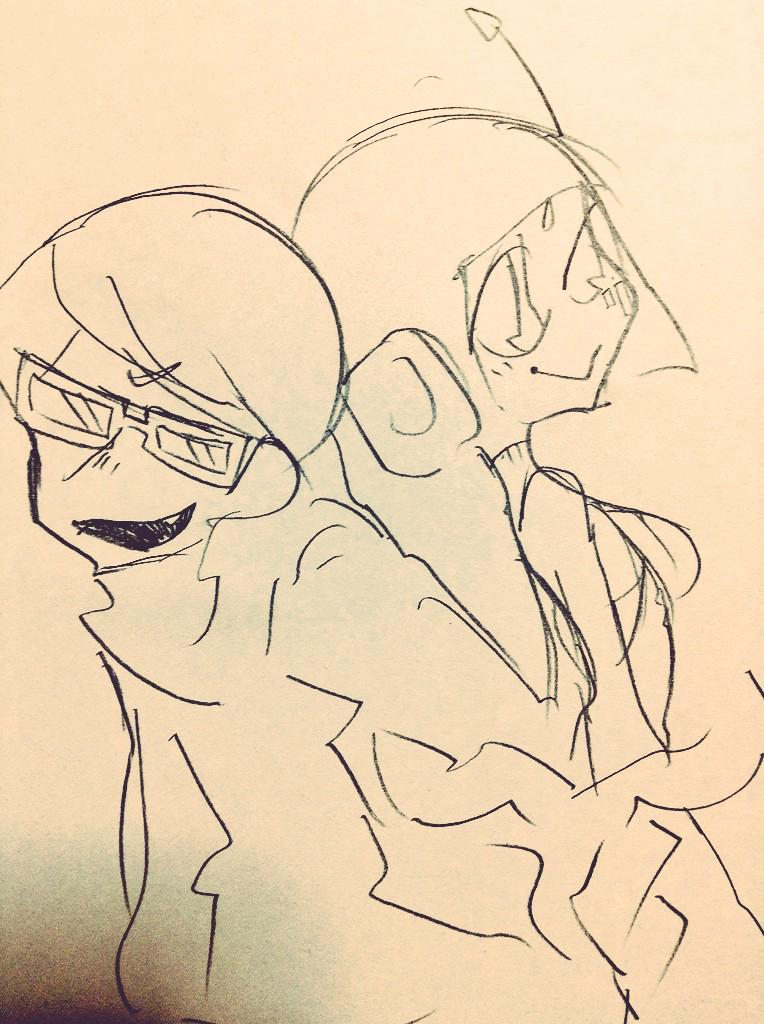 JSR character sketches by Komagome pipettodesu
