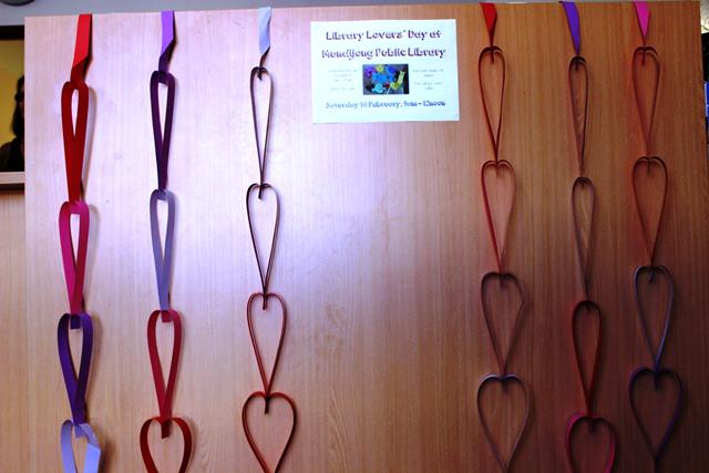 Getting ready for Library Lovers' Day #library #librarylove http://t.co/ziun7XLOCm