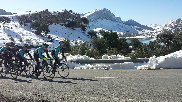 Majorca hasn't let us down with the views again this year. Spectacular scenery for the @MadisonGenesis training camp! http://t.co/WayOiCyr5C