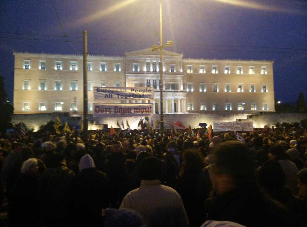 Thumbnail for #Mazi: Anti-austerity rallies in Greece and around Europe