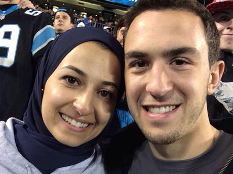 Rest in power Deah Barakat, 23, Yusor Mohamed, 21, and Razan Mohamed, 19. Heart crushing. #ChapelHillShooting http://t.co/9BNGMwOVt3