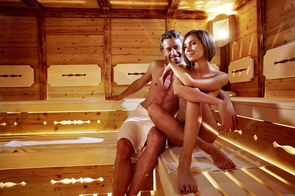 Русскую девку в бане