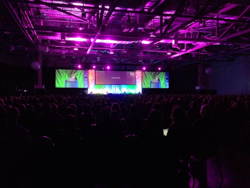 Standing room only for @dafeinberg! #Oetc15 http://t.co/z0UIhNkiQv