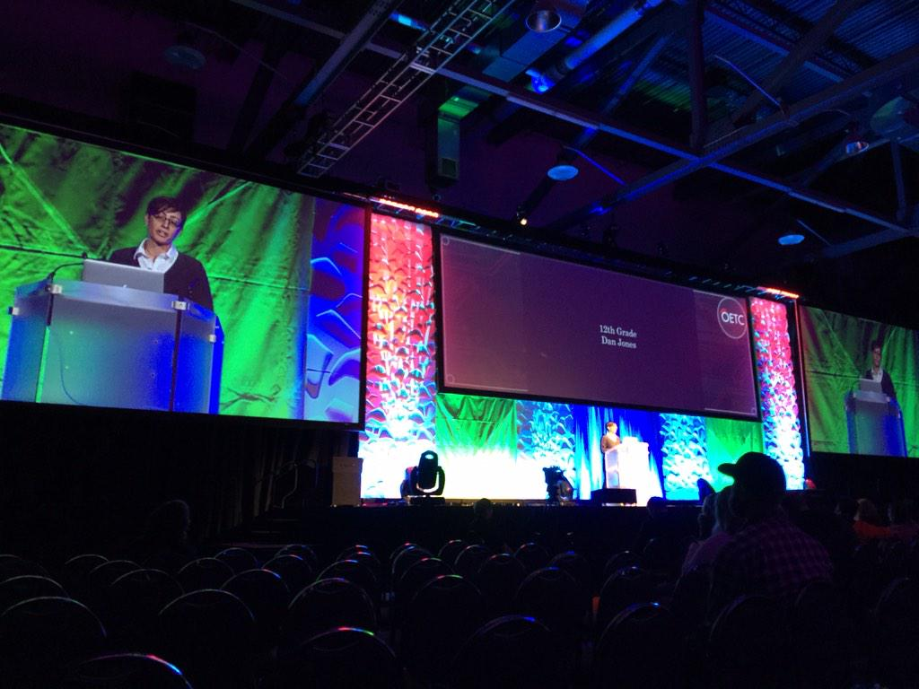 """We strive for believable not for realistic."" @dafeinberg #OETC15 http://t.co/7hWM1ojChC"
