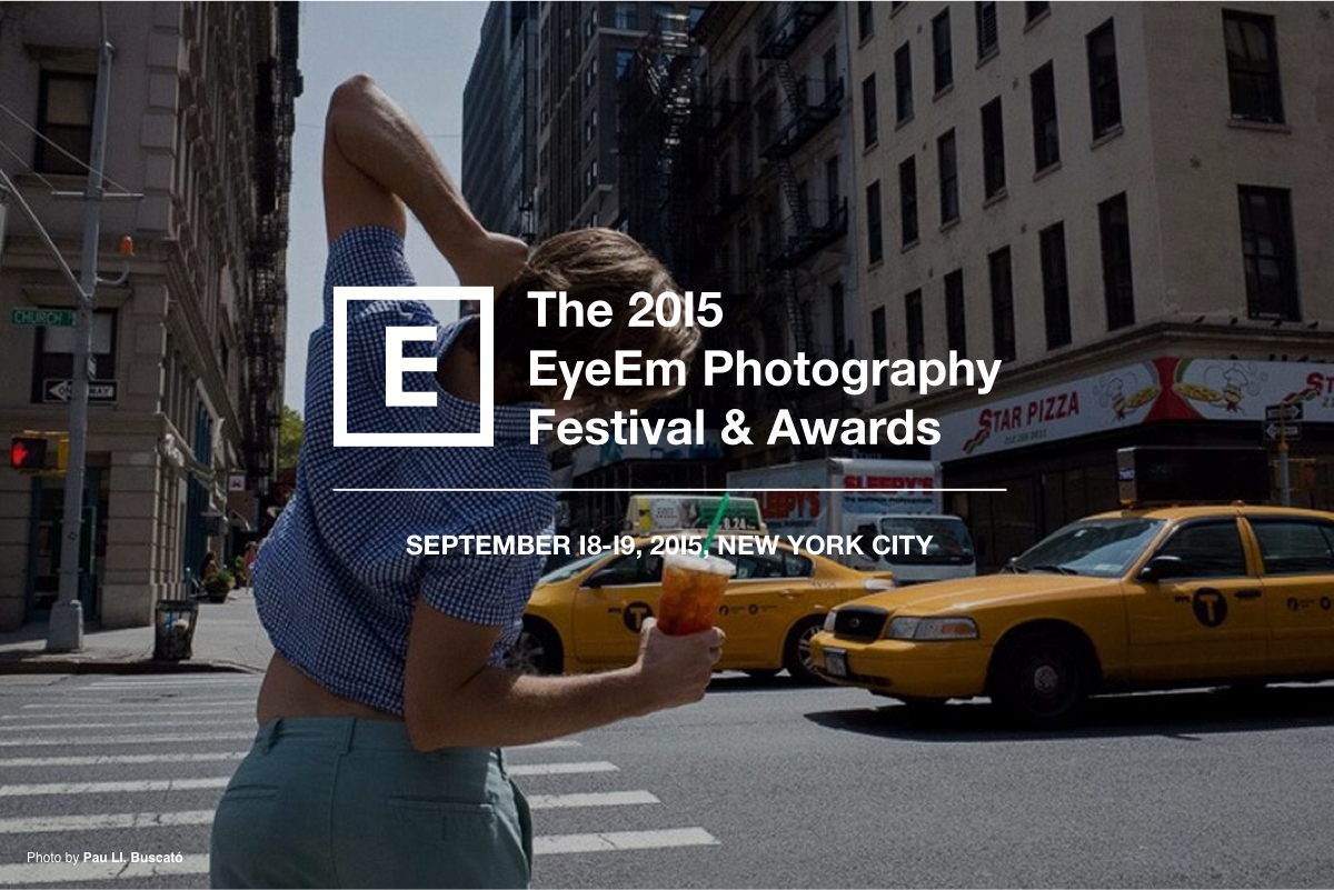 Really excited to bring The 2015 @EyeEm Photography Festival  to New York in September! http://t.co/4d4al0IEG6 http://t.co/Sz78vwWicU