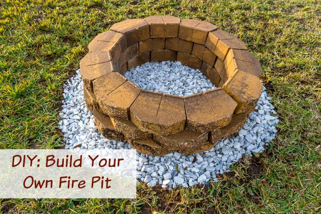 James samples on twitter diy build a backyard fire pit for Build my own fire pit