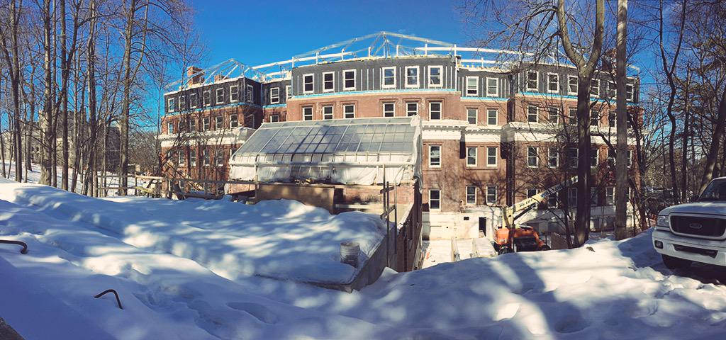 5. Our commitment to academic excellence reaches to building renovation. Williams Hall opens this year. #J230 #JRLweb http://t.co/Py9lpzslpE