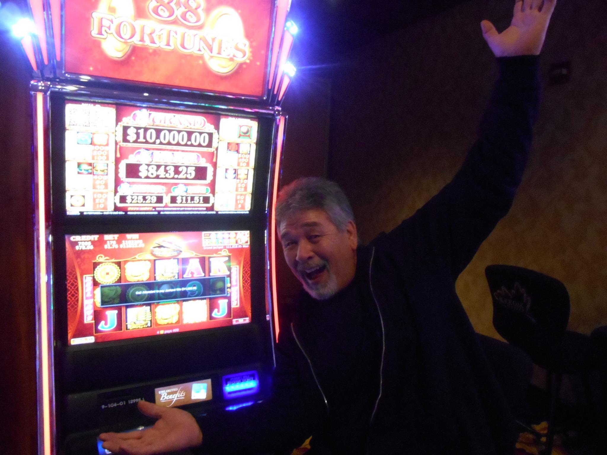 black oak casino winners
