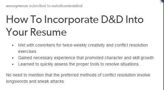 things to add to resumes