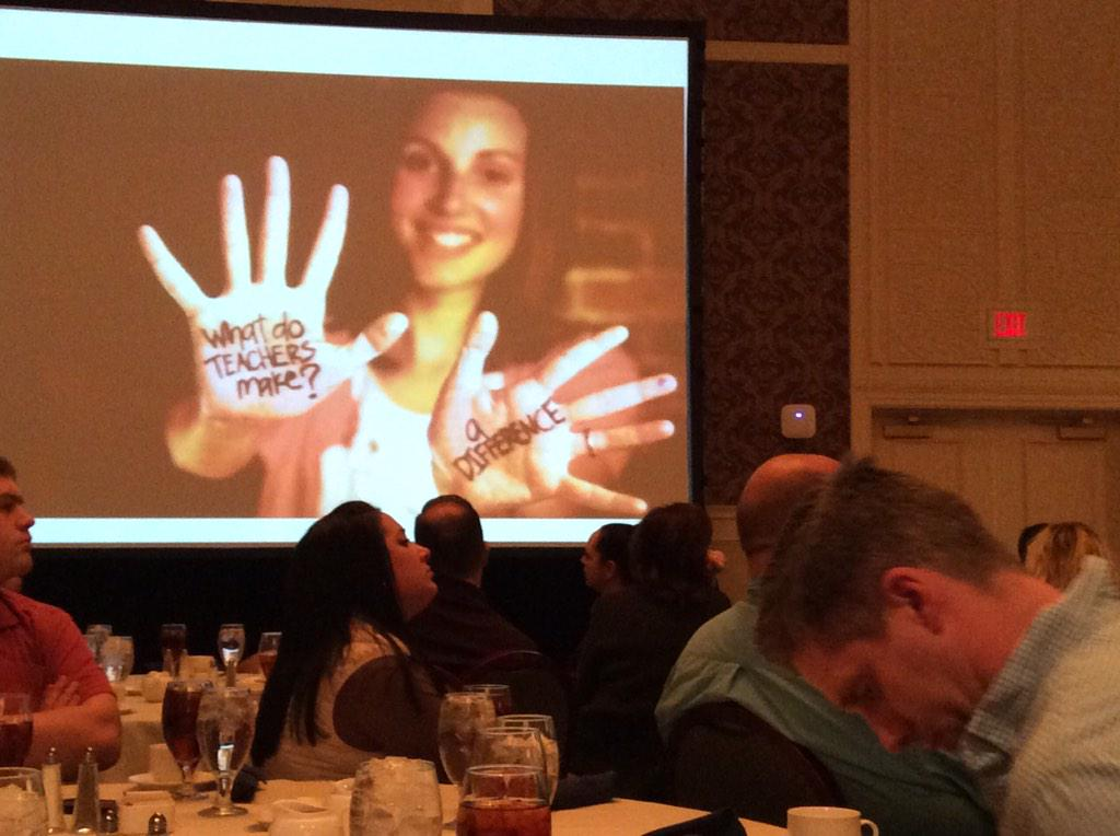 via @AngelaMaiers passionate teachers are the ones kids remember. Identify what your student's apassion #pete2015 http://t.co/myNRe5SmBP