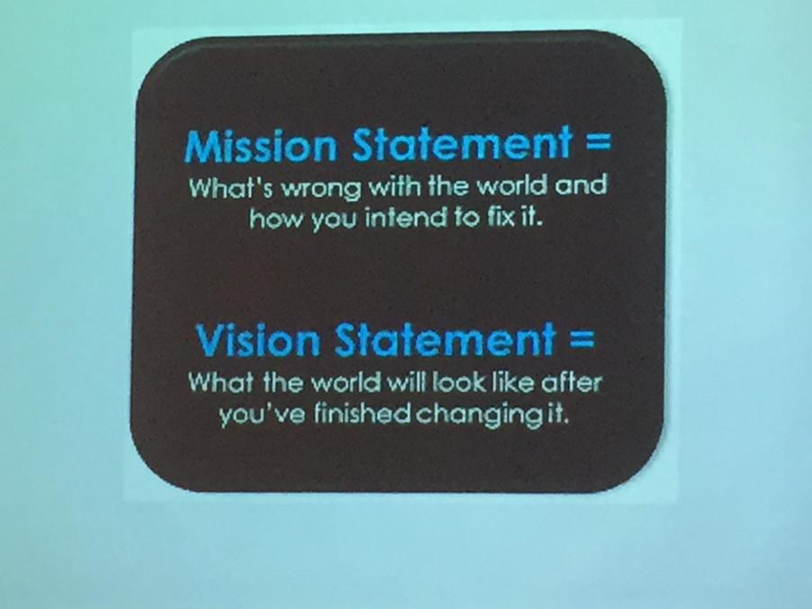 Nice visual talking about vision and mission statements #smallbiz @RTNEastVan http://t.co/SPARsZ5WTK