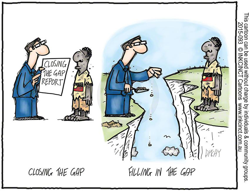Image result for filling the gap cartoon