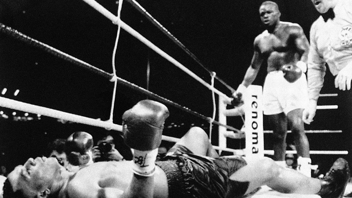 On this date 25 years ago, Buster Douglas knocked out then undefeated, undisputed heavyweight champion, Mike Tyson.