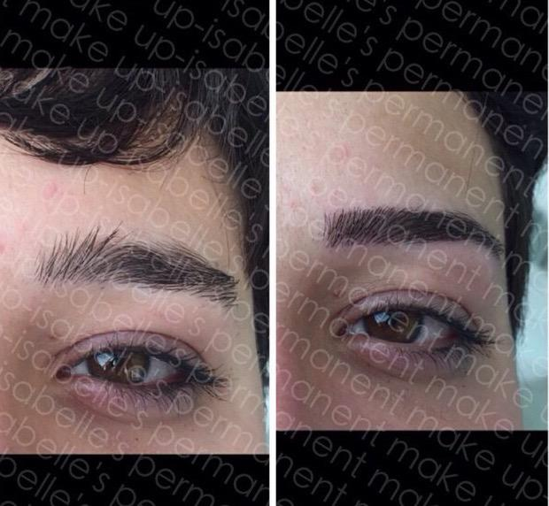 Isabelleskw On Twitter New Design Of Eyebrows By Semi Permanent