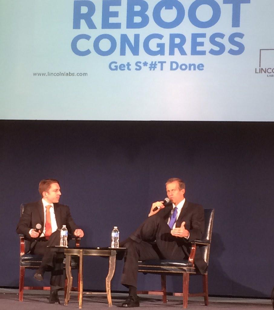 Enjoyed hearing from @SenJohnThune about Internet freedom @LincolnLabs #RebootCongress http://t.co/hyBTSrSdhz
