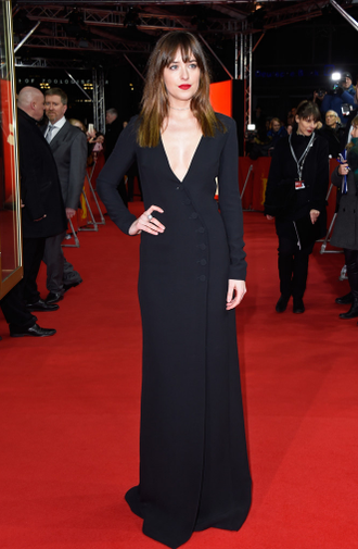Fashion News: #FiftyShadesofGrey star, Dakota Johnson, spotted in @Dior at #Berlinale2015 premiere. http://t.co/17qfASws2K
