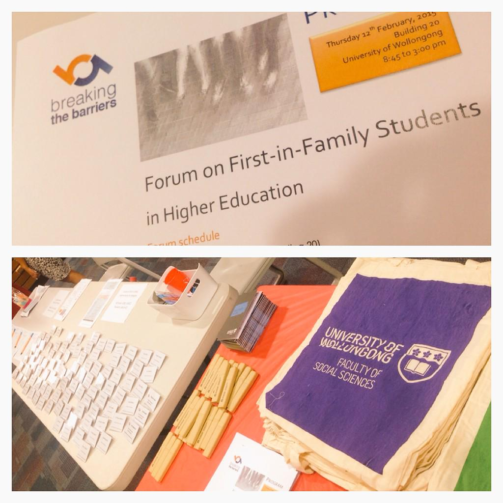 Exploring the role of family in higher education w/ Dr Sarah O'Shea #firstinfamilyforum @uowresearch http://t.co/XI7FplpiSq