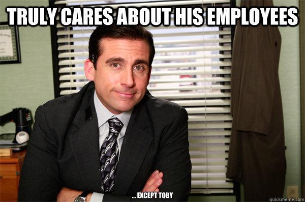 The Office On Twitter Worlds Greatest Boss Unless Youre Toby