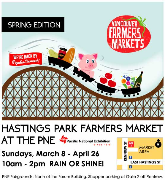 Our #HastingsPark Farmers Market is returning for a spring session starting March 8th! Please visit & bring a friend! http://t.co/jWfkvrL841