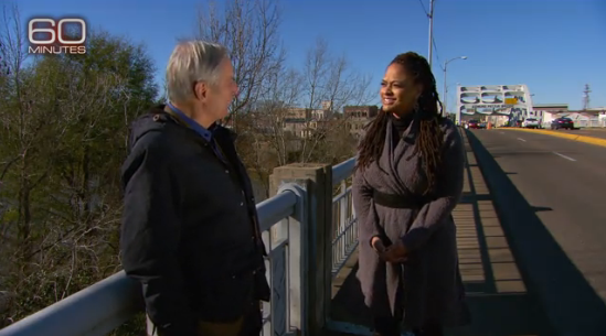 """Bob Simon's most recent @60Minutes report, with """"Selma"""" director Ava DuVernay, aired Sunday http://t.co/uWhB4WFV5G http://t.co/leRntYpizI"""