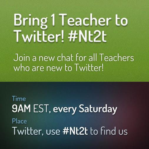 @shawndnix #PTchat Just followed you Dr Shawn! Come join us on Saturday mornings for #Nt2t. All lurkers are invited. http://t.co/rx9XT38Cbl