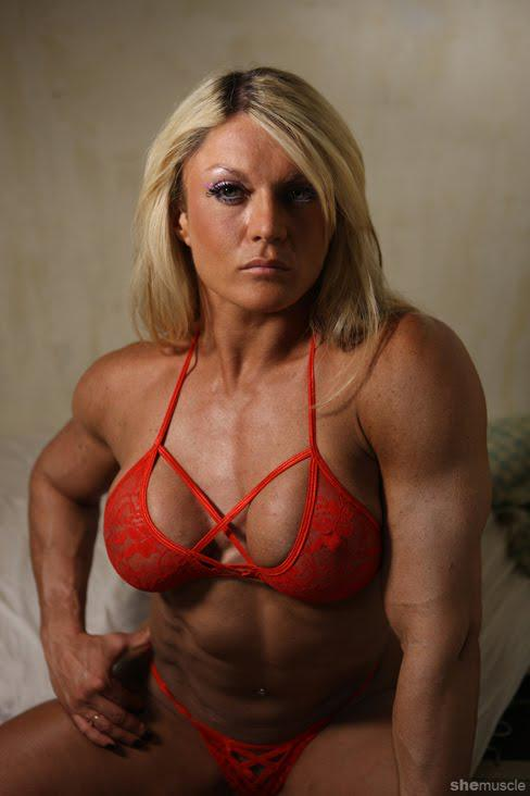 naked muscular women sex