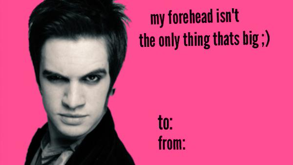 BAND VALENTINES DAY CARDS EEYpic.twitter.com/ukYmmjxuL0