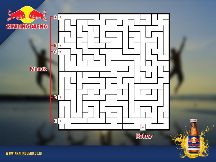 Pilih jalan masuk mana yang akan menuntunmu ke pintu keluar. Good luck ya, Pals! PULSA GRATIS menunggumuuu :D http://t.co/jDcXuQUeZ8