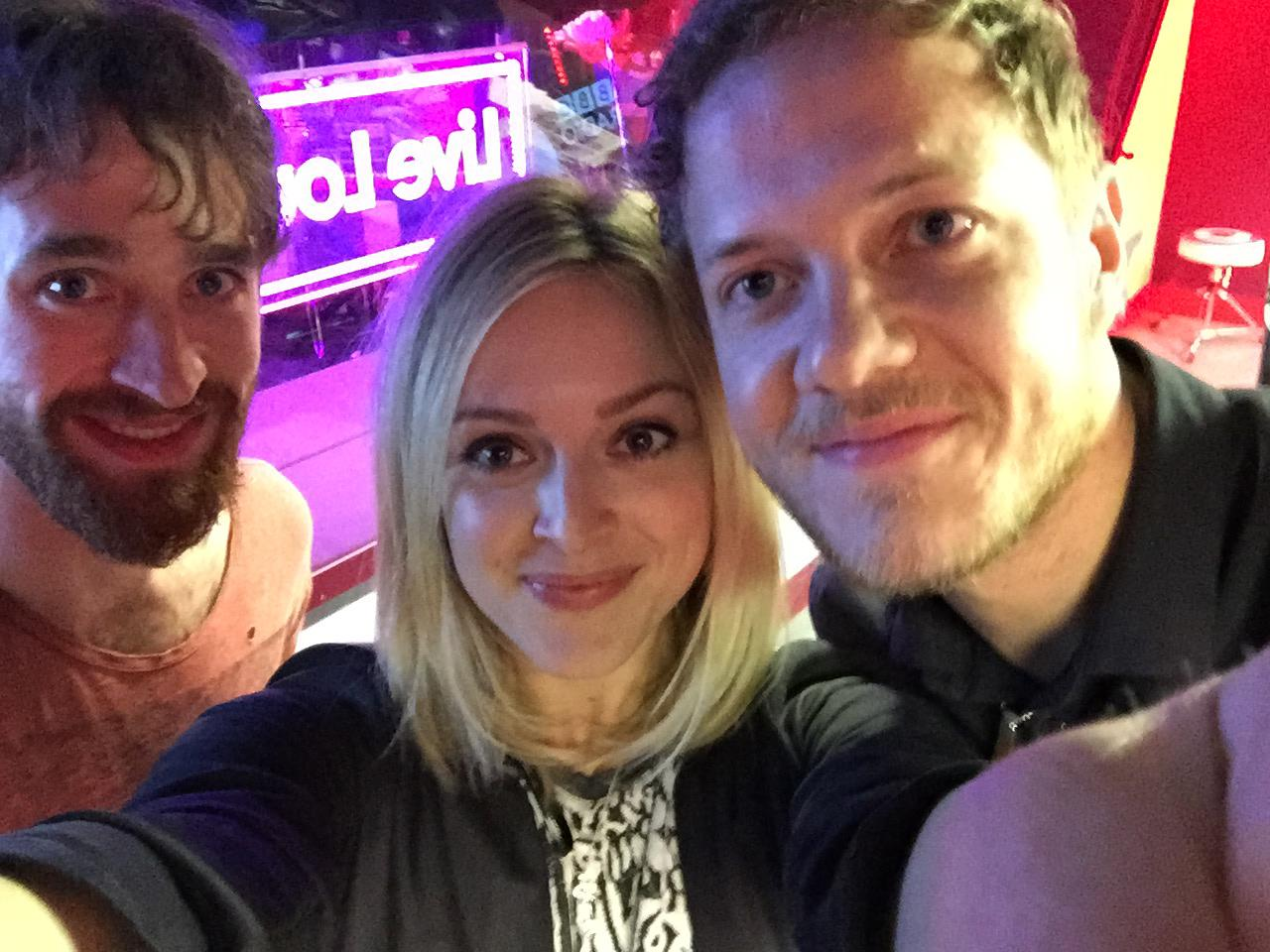 RT @BBCR1: So @Imaginedragons will be covering @taylorswift13's 'Blank Space' in the Live Lounge at midday. Exciting! http://t.co/SPKhm7szMH
