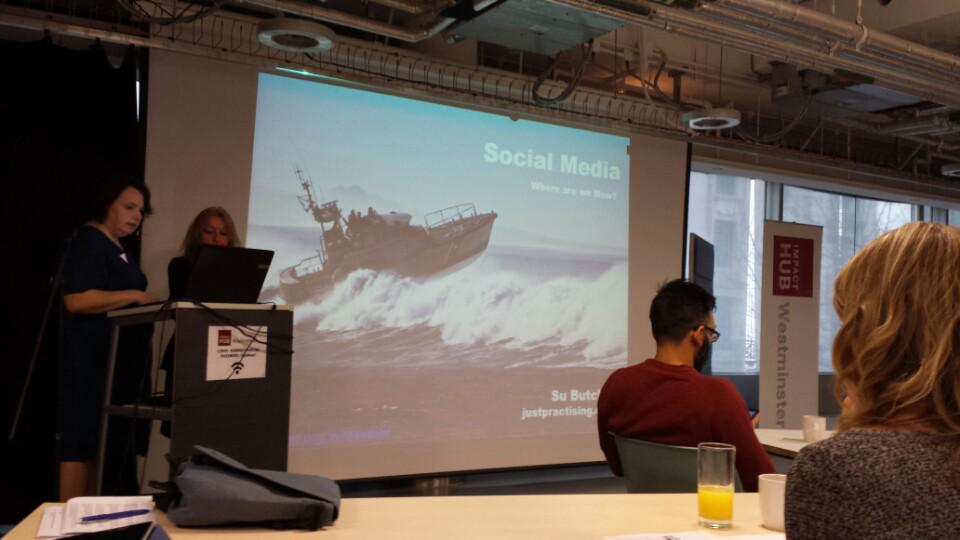At #sm4b event (at @HubWestminster in London, Greater London w/ @subutcher) https://t.co/UgKt4is5nV http://t.co/DkM3Ze6tjb