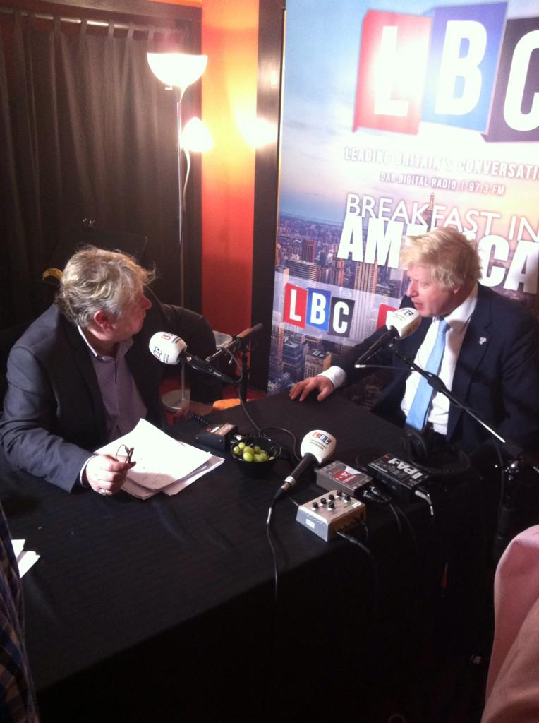 Listen Friday to my interview w/ @NickFerrariLBC on @LBC on being Mayor & promoting UK tech & life science in the USA http://t.co/QWTCVnXbHw