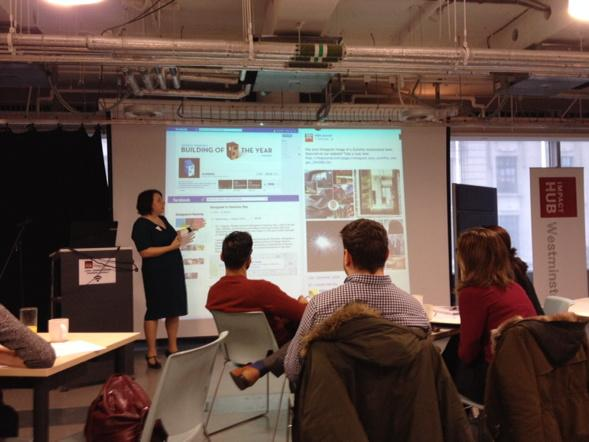 Social Media for Business #sm4b kicks off with @SuButcher at the Westminster Impact Hub with intro to the SM basics http://t.co/CMWZYqNqsf