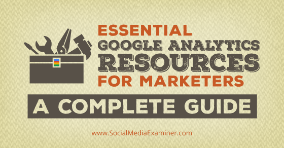 Essential Google Analytics Resources for Marketers http://t.co/oS7CUQPLdT by @LisaDJenkins via @smexaminer http://t.co/pENjcnJfjL