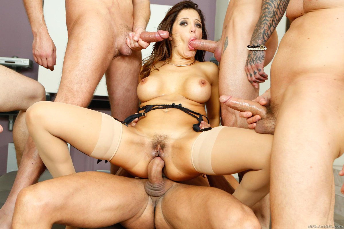 Easily son and friends gangbang mother love