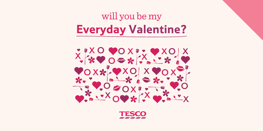 Tesco On Twitter Need An Ironic Valentine S Card For Your Best
